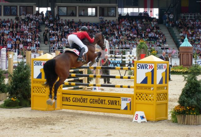 FEI European jumping championship in Mannheim(&copy 2007 by Jolle)